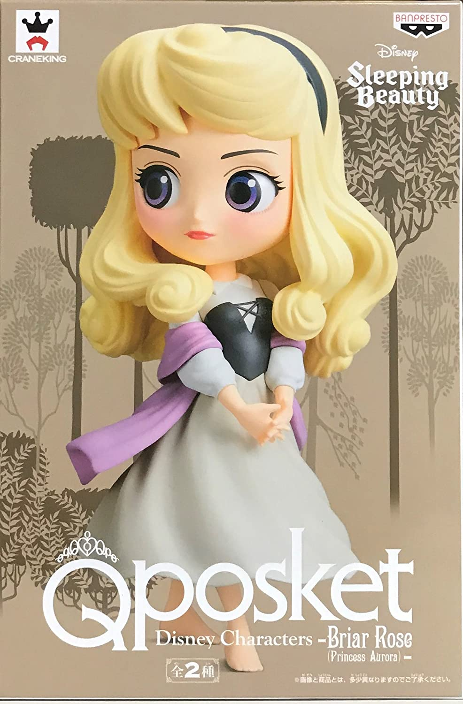 Q posket Disney Characters Briar pink Princess Aurora Rare color Figure