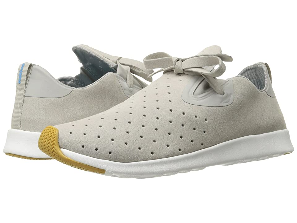 Native Shoes Apollo Moc (Pigeon Grey/Shell White/Natural Rubber 2) Shoes