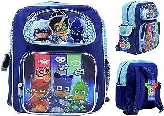 "PJ Masks Backpack 12"" Boys Book bag Catboy Owlette Gekko School Backpack NEW!"