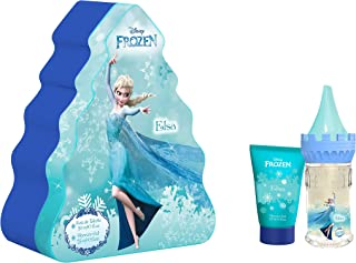 Disney Frozen Elsa Giftset For Girls, Eau De Toilette, 50 ml + Shower Gel, 75 ml