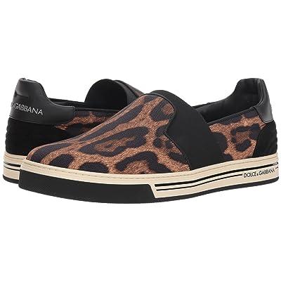 Dolce & Gabbana Leopard Low Top Sneaker (Leopard) Men