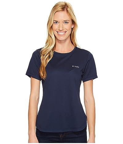Columbia PFG Zero II Short Sleeve Shirt (Collegiate Navy) Women