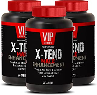 Men pills to last longer - X-TEND - MALE ENHANCEMENT - Tribulus and tongkat - 3 Bottles 180 Tablets