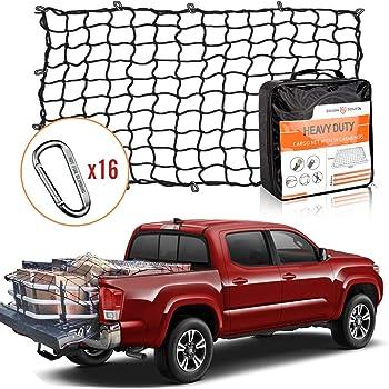 Mytee Products 6 x 8 Heavy Duty Cargo Net w//D Rings for Pickup Truck