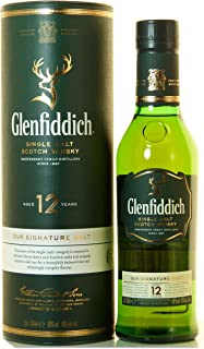 Glenfiddich 12 Year Old Whisky 35cl