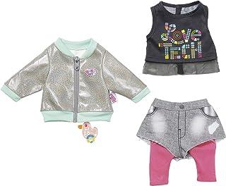 BABY Born BABY Born 827154 City Outfit 43cm, rosa, grau