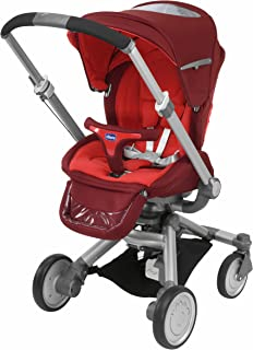 CHICCO I-MOVE STROLLER, TOP RED