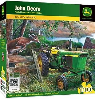 MasterPieces John Deere Deere Crossing - Model 3020 Series Tractor 1000 Piece Jigsaw Puzzle by Kevin Daniel