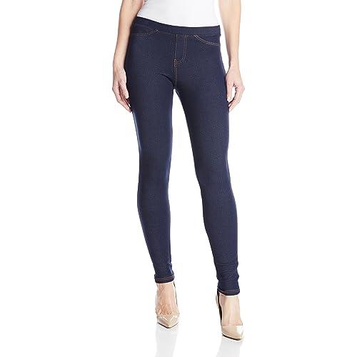f8d758c0c5030 No nonsense Women's Denim Leggings With Pockets