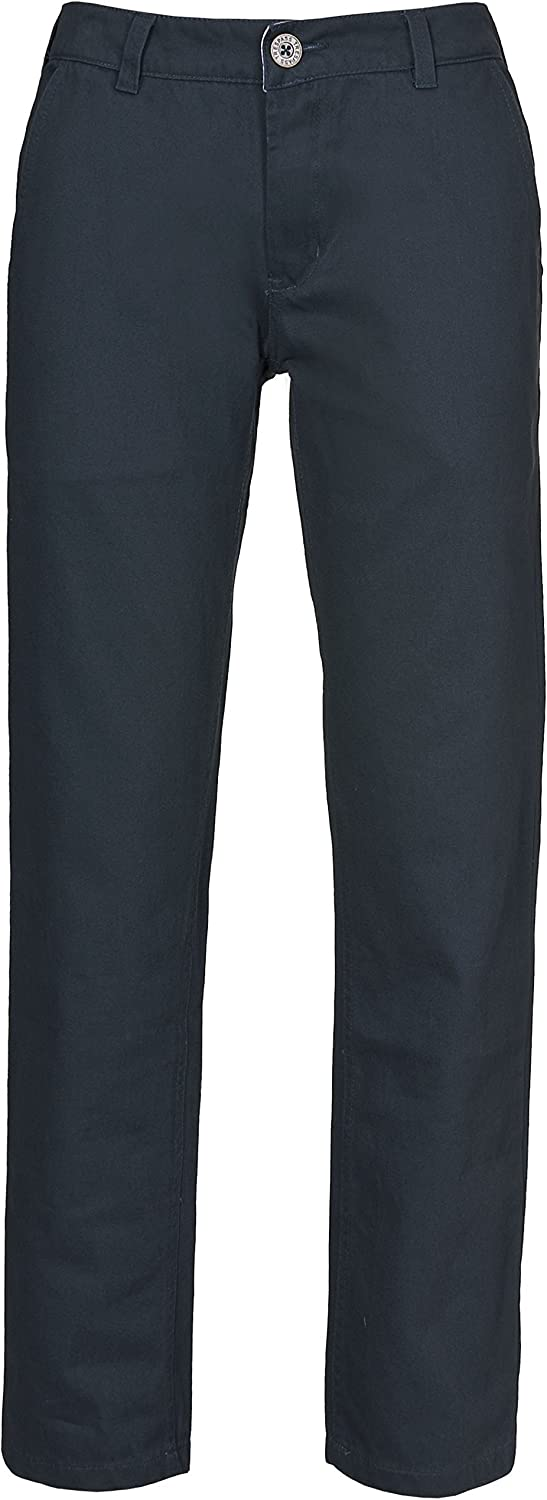 Makena Womens Cotton Trousers Summer Casual Regular Fit Ladies Pants