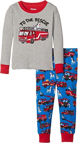 To The Rescue PJ Set (Toddler/Little Kids/Big Kids)