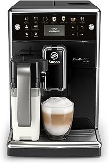 Saeco PicoBaristo Deluxe SM5570/10 Machine à expresso automatique noir avec carafe à lait et boutons tactiles