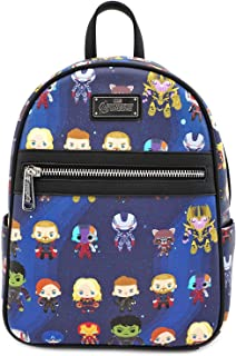 Marvel The Avengers Chibi All Over Print Mini Backpack - MVBK0065
