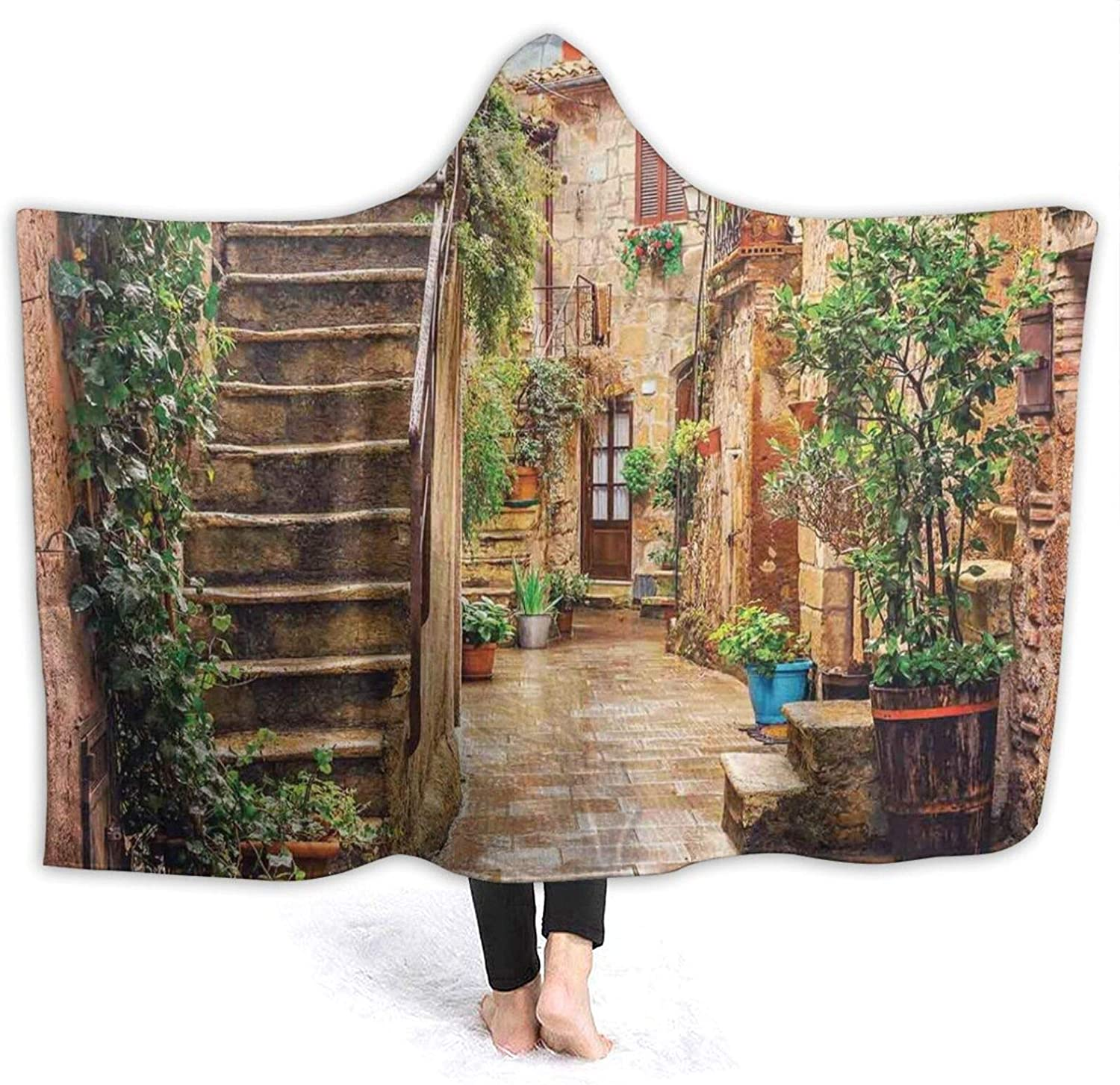 Hooded Blanket Anti-Pilling Flannel View Popular products Limited price an Old of Mediterranean