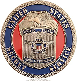 United States Secret Service Challenge Coin Homeland Security Law Enforcement Police Coins Collectibles