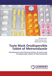 Taste Mask Orodispersible Tablet of Metronidazole: