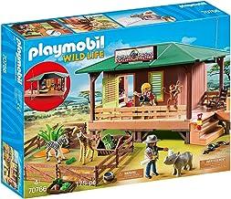 PLAYMOBILÂ Ranger Station with Animal Area