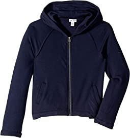 Super Soft French Terry Hoodie Jacket (Big Kids)