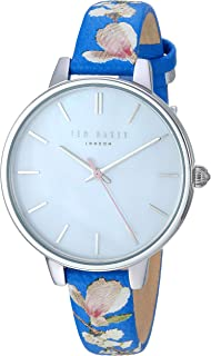 aa60b3eb4ae8 Ted Baker Women s    Kate  Stainless Steel Analog-Quartz Watch with Leather  Strap