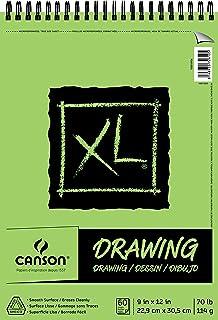 Dibujo de la serie CANSON XL, 9 x 12 pulgadas.