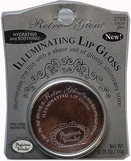 Physicians Formula Retro Glow Illuminating Lip Gloss Cocoa Glow #3728, 0.35 Ounce