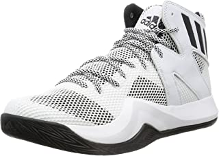 adidas Crazy Bounce Homme Baskets Basket-Ball Lacets Sport - Blanc -