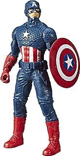 Boneco Marvel Olympus Capitão América - E5579 - Hasbro