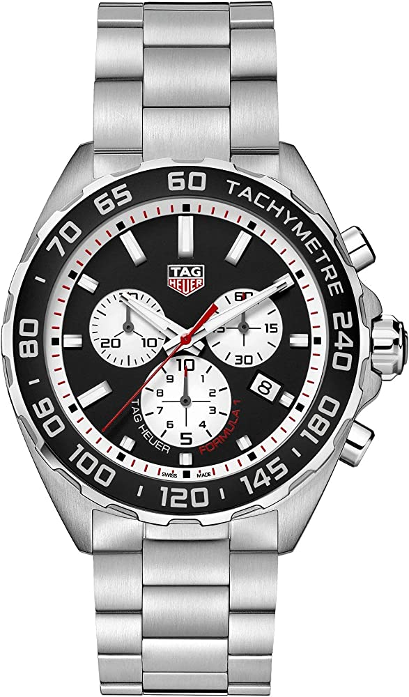 Tag heuer  orologio -formula 1 chrono in lega di acciaio CAZ101E.BA0842