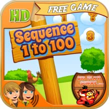 Sequence 1 to 100 w/ Premium Children's Voices - Free e-Learning for Kids