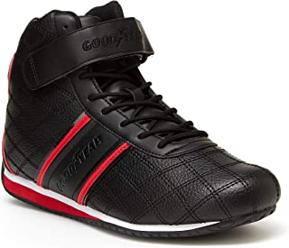Best mens black and white high top sneakers Reviews