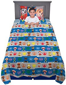 Franco Kids Bedding Super Soft Sheet Set, 3 Piece Twin Size, Paw Patrol