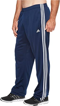 adidas - Big & Tall Essentials 3-Stripes Regular Fit Tricot Pants