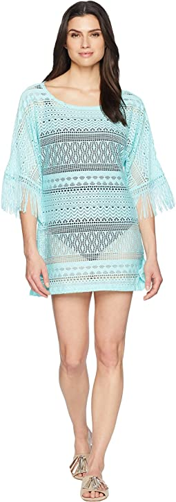 Tough Luxe Boat Neck Tunic Cover-Up