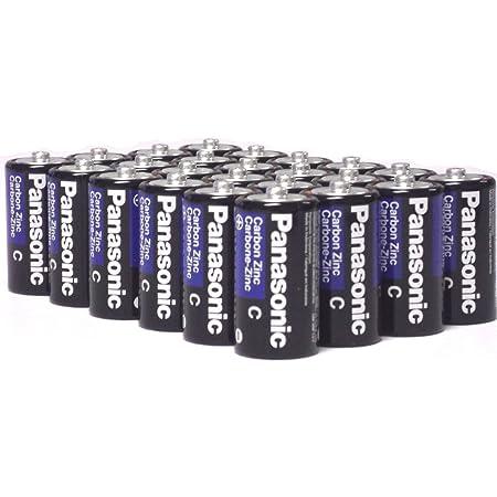 24 Pack Wholesale Lot Panasonic Super Heavy Duty C Batteries