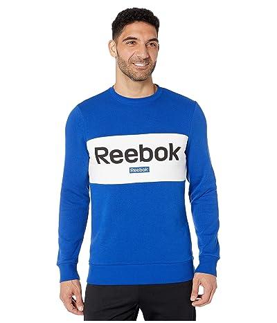 Reebok Training Essentials Big Logo Crew (Cobalt) Men