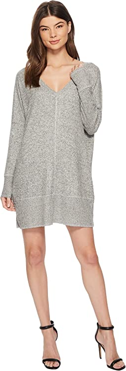 American Rose - Addison 3/4 Sleeve Knit Dress