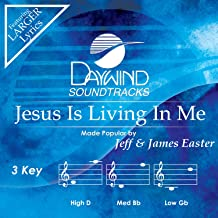 Jesus Is Living In Me Accompaniment/Performance Track