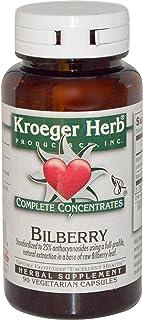 Kroeger Herb Co, Bilberry, 90 Veggie Caps