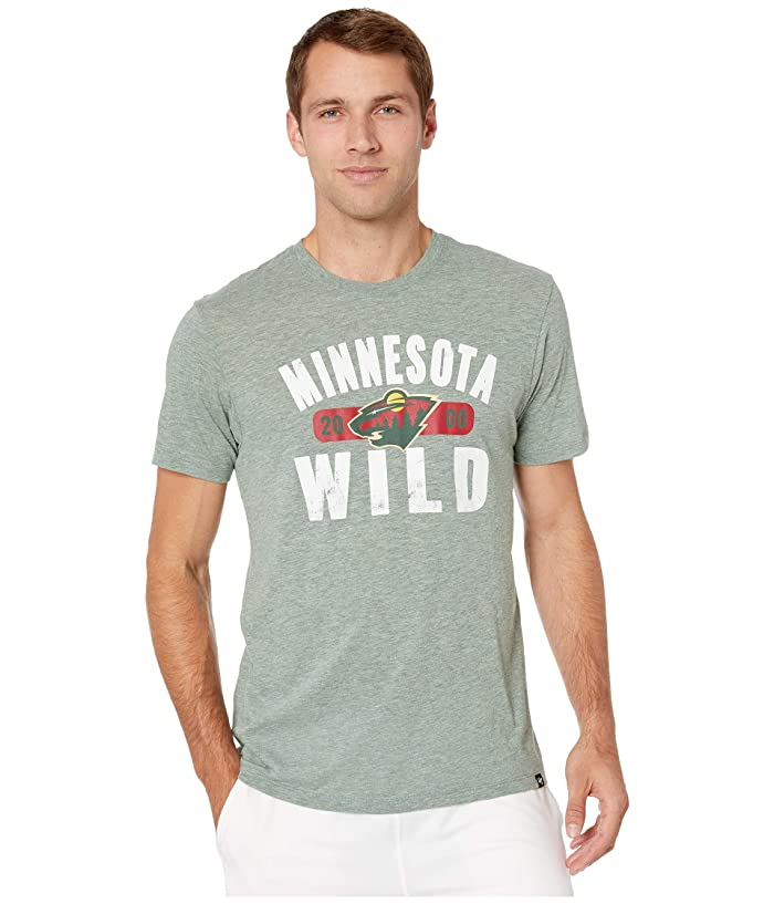 Minnesota Wild Milestone Match Tee Dark Green
