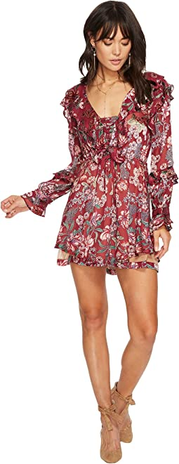 For Love and Lemons - Flora Drawstring Mini Dress