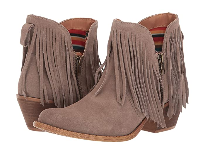 Jerico  Shoes (Taupe Suede) Women's Boots