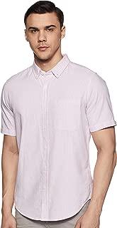 Forever 21 Men's Striped Regular Fit Casual Shirt