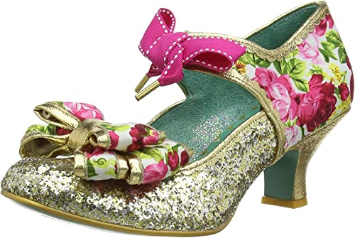 Poetic Licence by Irregular Choice Apple Spice, schuhe de tacón con Punta Cerrada para damen
