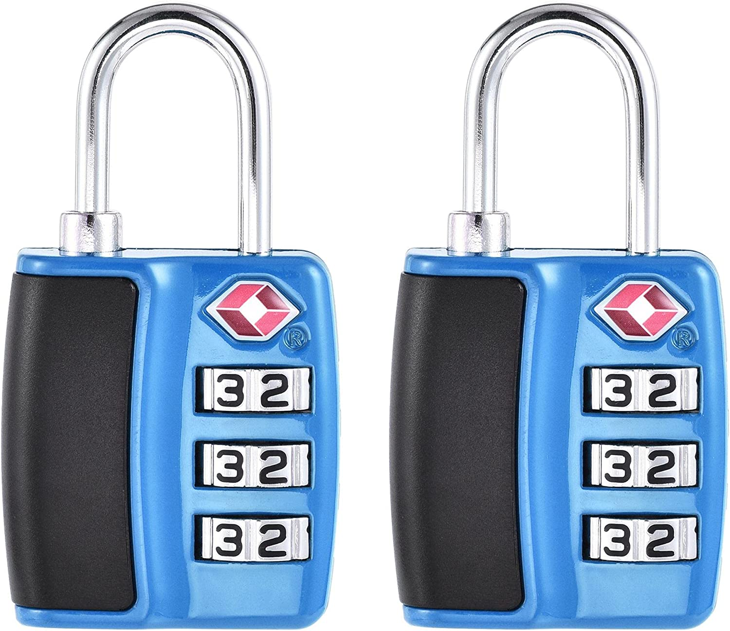 uxcell TSA Bombing free shipping Approved Luggage Lock Padl 3 Combination Travel 2021 autumn and winter new Digit