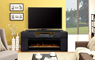 DIMPLEX Concord Media Console Electric Fireplace with Acrylic Ember Bed