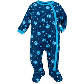 Disney Mickey Mouse Stretchie Sleeper for Baby Size 3-6 MO Multi