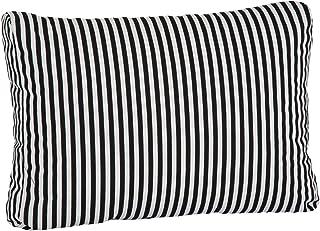 beo BE807 Rattan Lounge Back Cushion Side Cushion 60 x 40 cm Approx. 20 cm Thick Stripes Black White