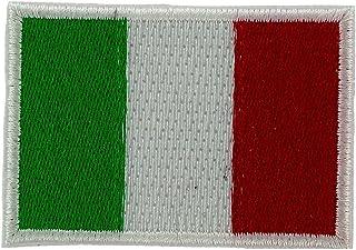Patch Bandiera Italia Italiano Ecusson Snoopy T hermocollant–2x 3cm/Set di 5