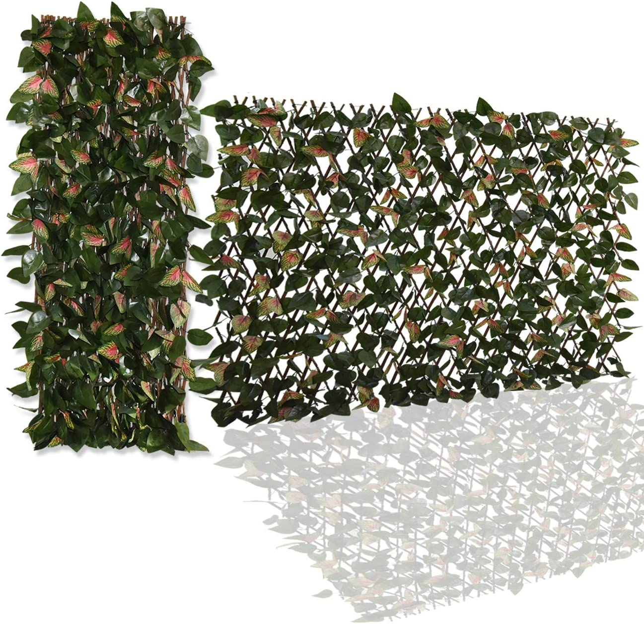 Ralph Expandable Faux Ivy Superior Fence Privacy Artificial Decor Very popular Screen