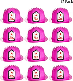 Red Plastic Fire Helmets